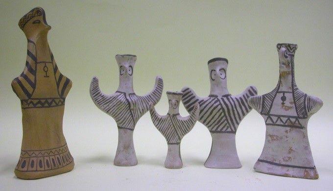 A foglalkozásokon készíthető idol-szobrocska